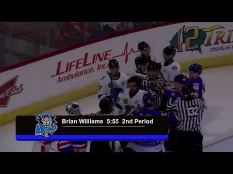 Wenatchee vs Prince George Oct 7-8 2016 Highlights