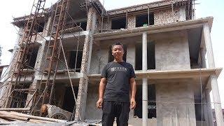 清香家新房工地只剩一位60多岁老建筑工,泥土哥带您去看究竟 【泥土的清香】