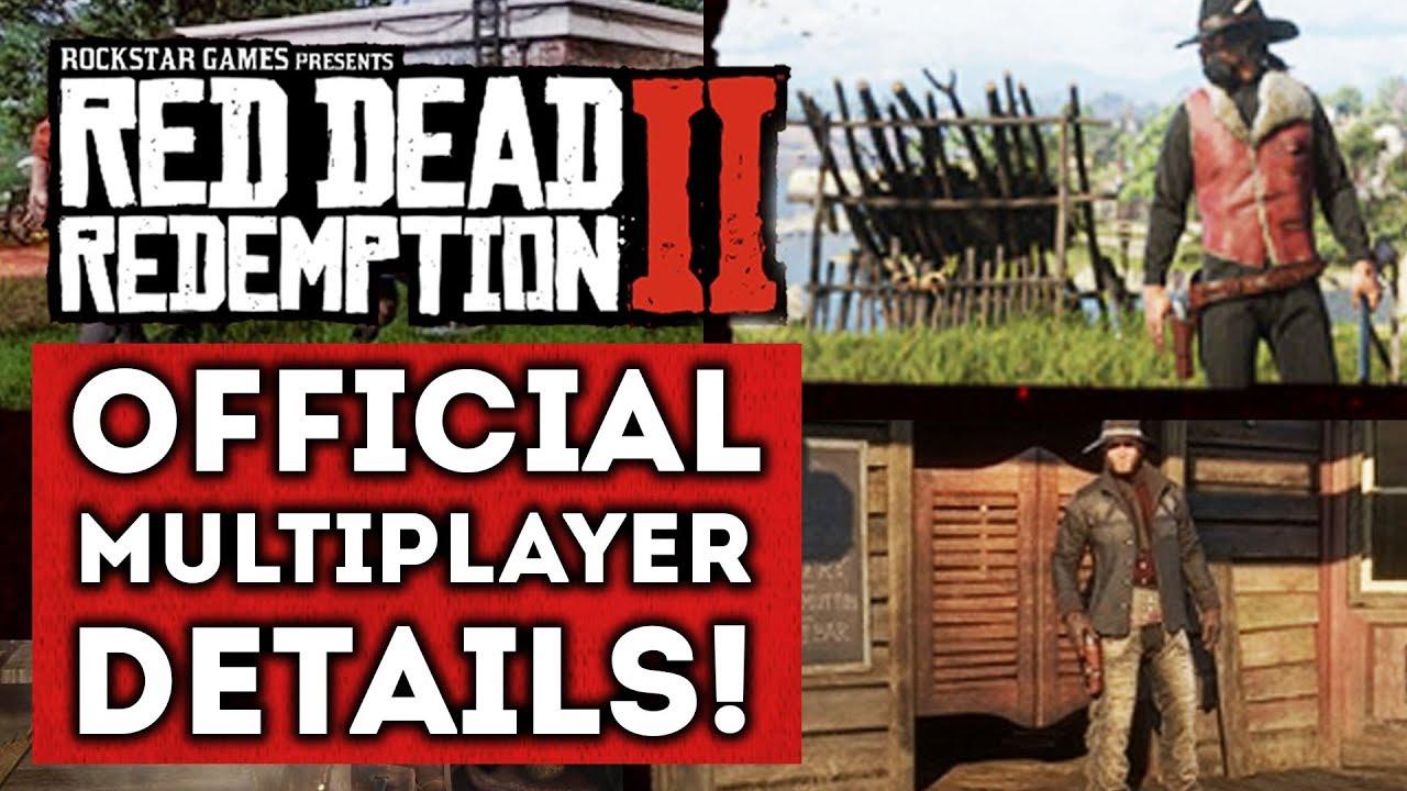 Red Dead Redemption 2 First Official Multiplayer Details Online