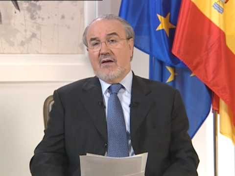 Spanish Vice-President and Minister for Finance and the Economy, Pedro Solbes
