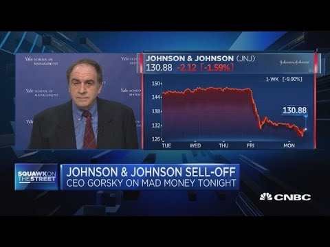 Johnson & Johnson being treated unfairly in sell-off, says pro