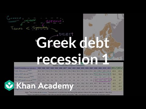 Greek Debt Recession and Austerity (part 1)