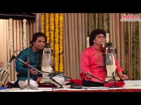 Shri Farooq Lateef Khan & Shri Sarwar Hussain Khan - Sarangi (Saptak Annual festival 2017)