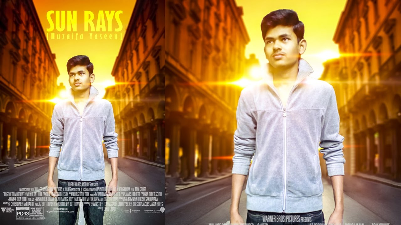 Poster design in photoshop 7 - How To Make Action Movie Poster Design In Photoshop 7 0 Tutorial