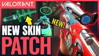 VALORANT | New Skin Collection - Effects \u0026 Knife Animation (Patch 1.09 Gameplay)