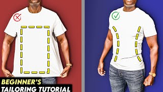 How To Tailor A T-Shirt And Make It Slim Fit