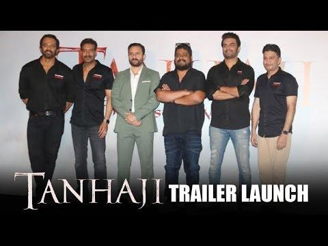 TANHAJI Trailer Launch   Full Video HD   Ajay Devgn, Saif Ali Khan, Kajol