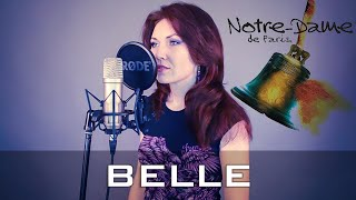 Belle - cover in French, English, Russian! by AMADEA (LIVE) Notre Dame de Paris