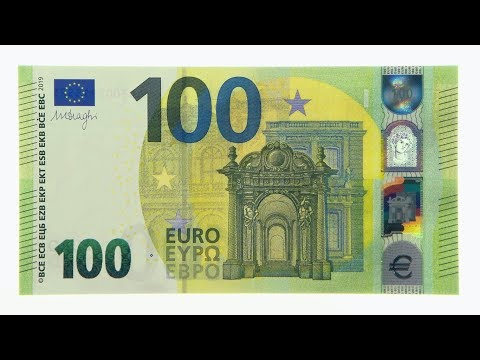 First Look At The NEW 100 EURO Banknote!