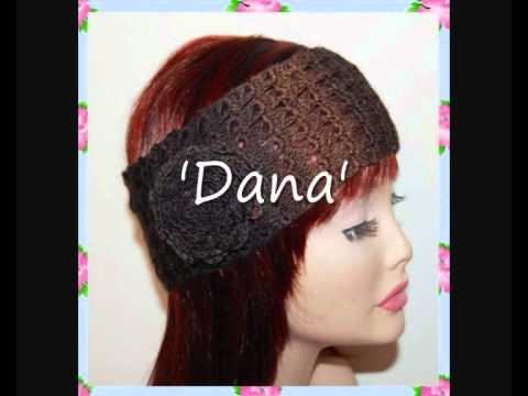 Dana Lace Headband 4ply Sock Yarn Crochet Pattern - YouTube
