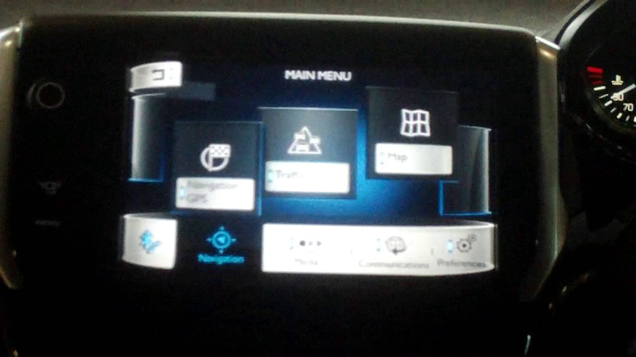 new peugeot 208 touch screen technology - youtube