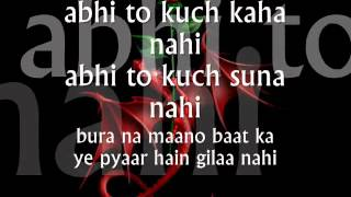 Abhi Na Jao Chod Kar -Lyrics.wmv