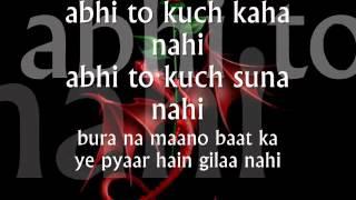 Video Abhi Na Jao Chod Kar -Lyrics.wmv download MP3, 3GP, MP4, WEBM, AVI, FLV Juni 2018