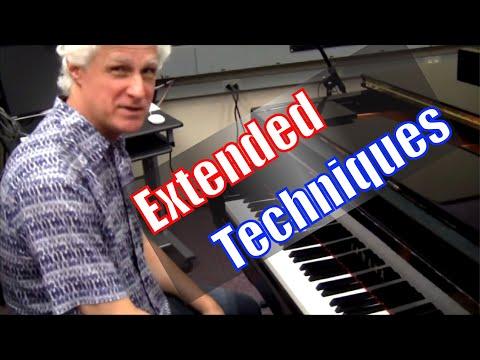 Contemporary Piano Techniques - Sympathetic Vibrations (Addendum)
