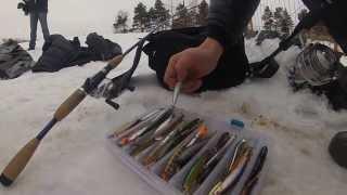 Рыбалка на спиннинг зимой.(, 2013-11-20T14:50:52.000Z)