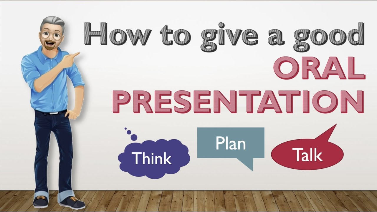 ESL - Guidelines on how to give a good ORAL PRESENTATION - YouTube
