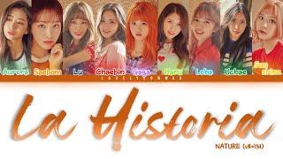 [3.23 MB] NATURE (네이처) – La Historia (별자리) Lyrics (Color Coded Han/Rom/Eng)