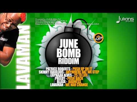 "Lavaman - We Nah Change (June Bomb Riddim) ""2015 Soca"""