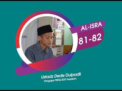 Al Isra Ayat 81-82 | SDIT Assalam