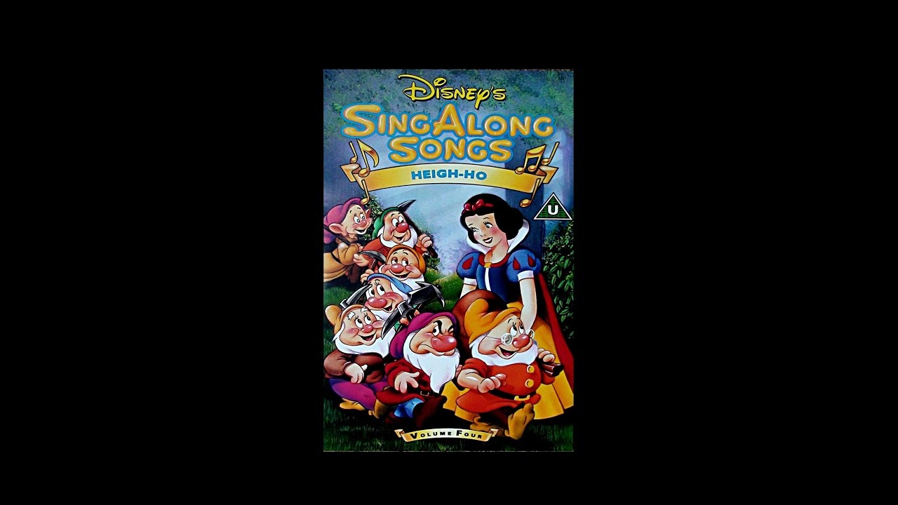 Digitized Opening To Disney S Sing Along Songs Heigh Ho Uk Vhs Version 2 Youtube