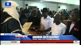 Anambra State Gets 3rd Female Speaker 14/06/15