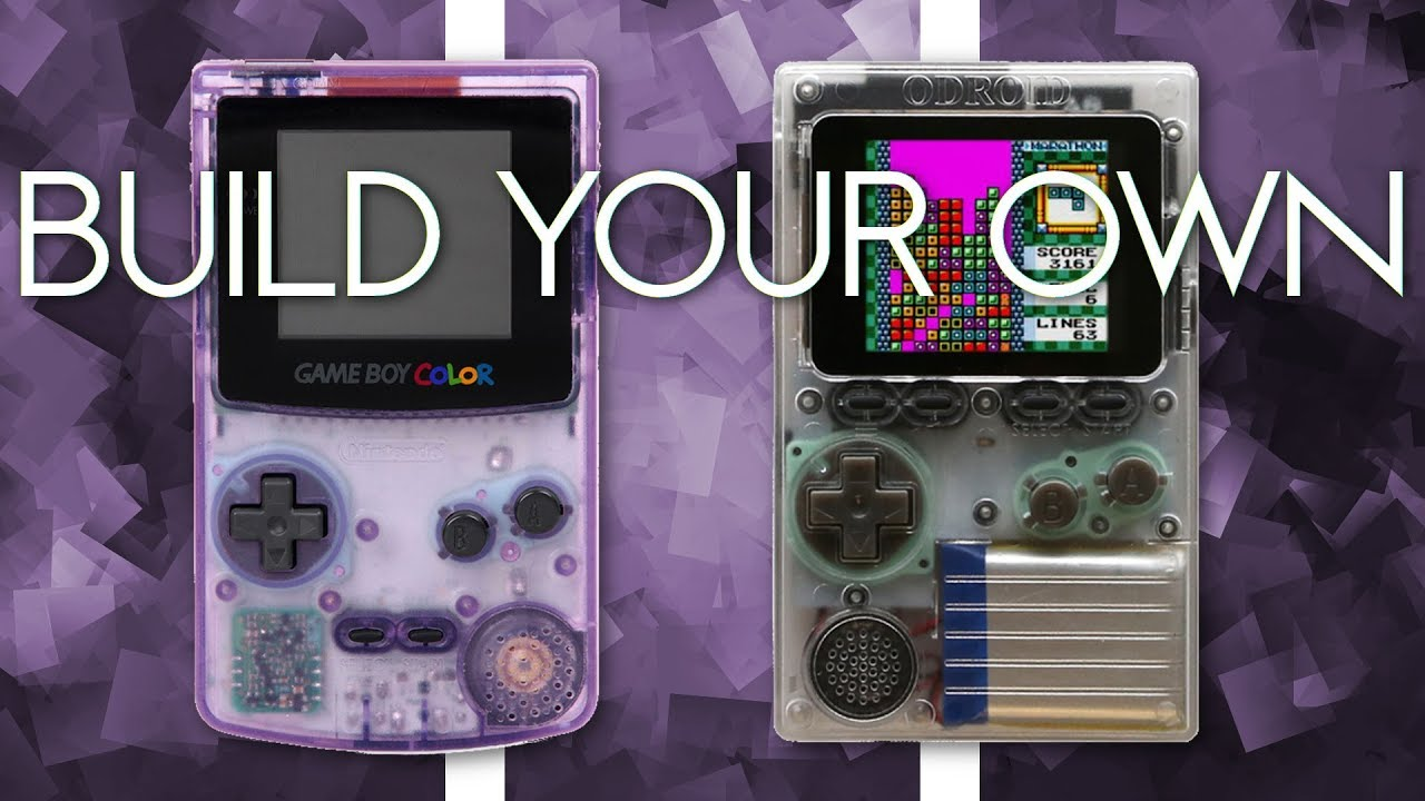 Build your own GameBoy! ODROID-GO Unboxing, Assembly and Game-Installation