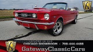1966 Ford Mustang Restomod Stock #1516 CHI