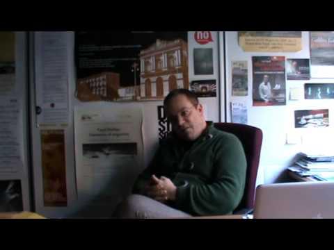 """Video-intervista al prof.Carlo Fanelli: """"L'Italia è una terra di bigotti e il teatro soffre"""""""