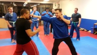 Jeet Kune Do Training Methods - Striking Lesson with Sifu Billy Brown
