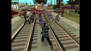 Samp Rp 06 The Rifa Gang VS Aztecas Gang