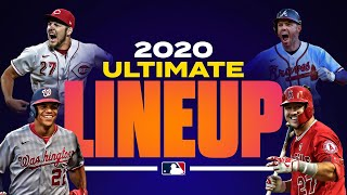 The 2020 MLB Ultimate Lineup (Best hitters at each position, top pitchers!)