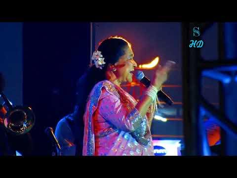 Asha Bhosle  Live concert in Haldia Mela 2018 Closing Ceremony