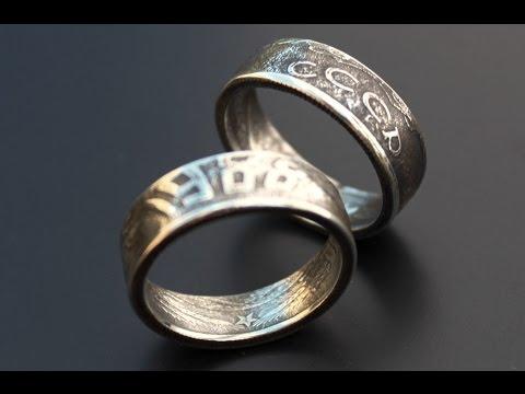 Как из монеты сделать кольцо