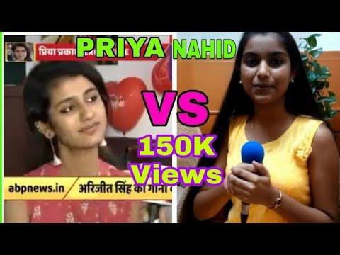 Priya Prakash Varrier vs Nahid Afrin||Chennai Vs Assam.By Techno Asom