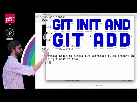 1.7: git init and git add - Git and GitHub for Poets