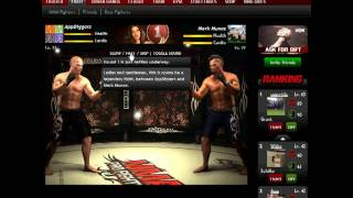MMA Pro Fighter facebook - lvl 21 gameplay