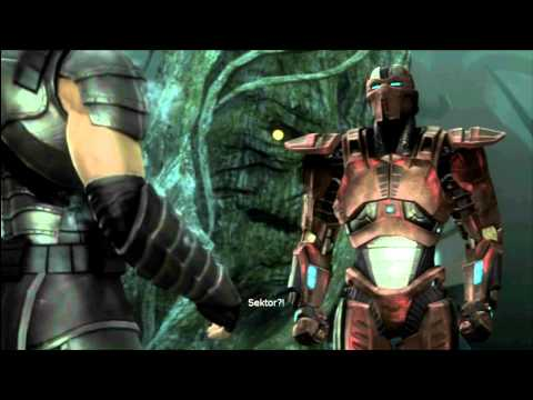 MK9 story mode Chapter 7: Smoke cutscenes