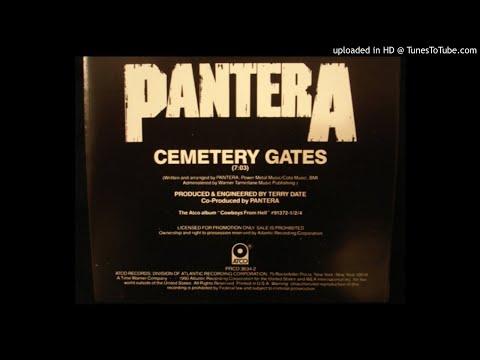 Pantera - Cemetary gates  (instrumental)