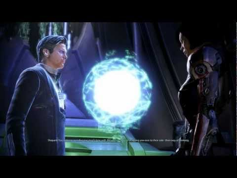 Mass Effect 3: All conversations with  the Illusive Man (Paragon)
