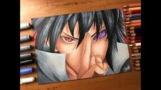Speed Drawing - Sasuke Uchiha