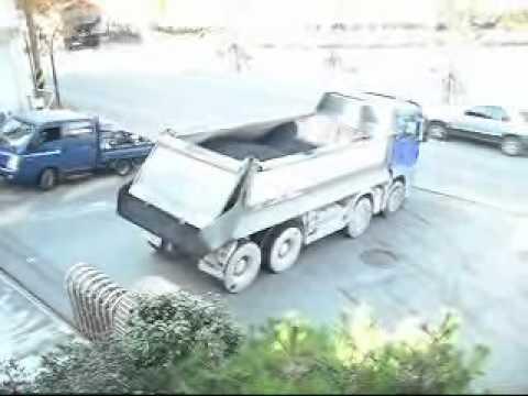 MAN and HYUNDAI truck
