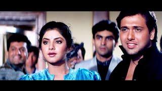 दिव्या भारती - गोविंदा प्यार में जुदाई दर्द भरा गाना - तेरे मेरे प्यार में 4K - Divya Bharti Song 4K
