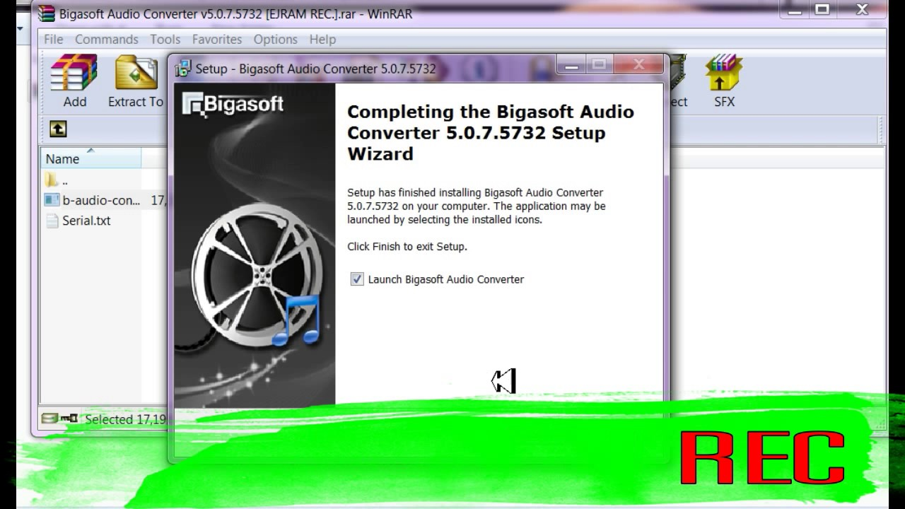 free audio converter 5.1 7 key
