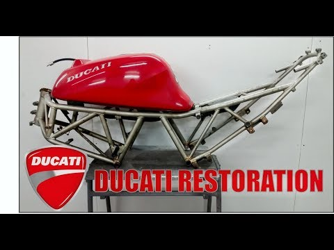 Ducati 600 Supersport Full Restoration EP1