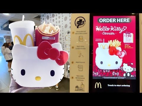 McDonald's Goodies in Singapore | Hello Kitty