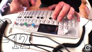 Beatmaking on Teenage Engineering OP-1. Sampling an old cassette tape.