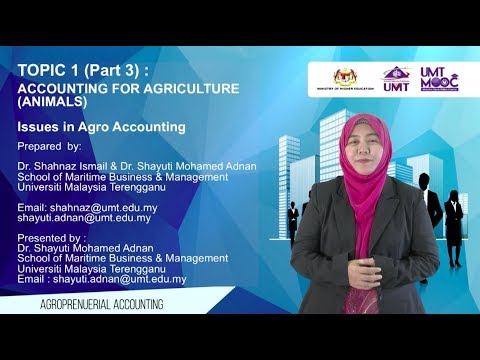 TOPIC 1.3: Accounting for Agriculture (Animals)-Accounting Issue: Recognition and Measurement
