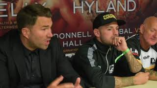'PEOPLE LEAVE THE ARENA - THINKING F****** HELL - HE'S AN ANIMAL' - EDDIE HEARN ON LEWIS RITSON