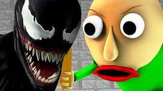 БАЛДИ vs ВЕНОМ (Baldi's Basics Пародия Хоррор Игра 3D Анимация)