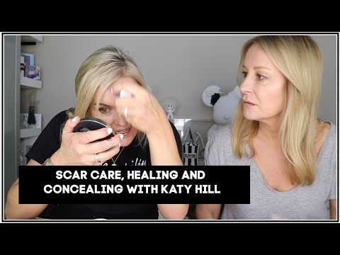 HOW TO HEAL AND HELP SCARS WITH KATY HILL